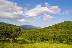 Horizontal de montagne. Images libres de droits
