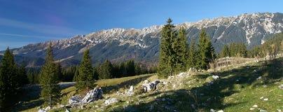 Horizontal de montagne Photos libres de droits