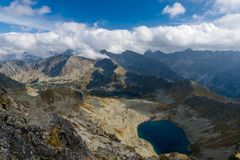 Horizontal de montagne Images stock
