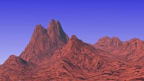 Horizontal de montagne Image stock