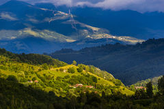 Horizontal de montagne Image libre de droits