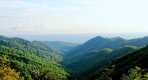 Horizontal de montagne d'été Images libres de droits