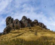 Horizontal de montagne d'automne Photos libres de droits