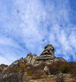 Horizontal de montagne d'automne Images libres de droits