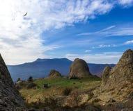 Horizontal de montagne d'automne Image libre de droits