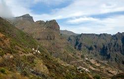 Horizontal de montagne dans Tenerife Images libres de droits