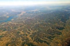 Horizontal de montagne de la Chine Images libres de droits