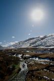 Horizontal de montagne de neige photo libre de droits