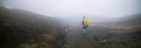 Horizontal de montagne de source Photos libres de droits