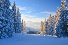 Horizontal de montagne Schladming l'autriche Photos stock