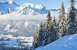 Horizontal de montagne Schladming l'autriche Photo libre de droits