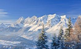 Horizontal de montagne Schladming l'autriche Image stock