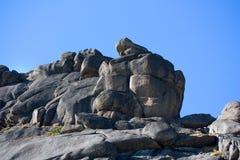 Horizontal de montagne. Stationnement normal sibérien Ergaki Images libres de droits
