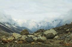Horizontal de montagnes Photo libre de droits