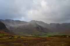 Horizontal de montagnes photographie stock libre de droits