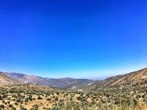Horizontal de montagnes Photo stock