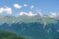 Horizontal de montagnes Image stock