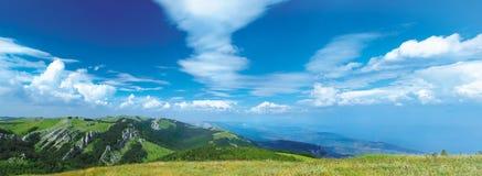 Horizontal de montagnes de rimea de ¡ de Ð Images stock