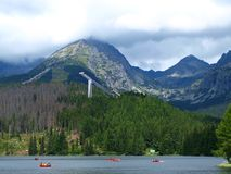 Horizontal de montagnes - Slovaquie Image stock