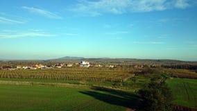 Horizontal de Moravian image stock