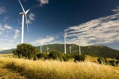 Horizontal de moulin à vent Photos libres de droits