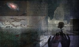 Horizontal de mystère illustration libre de droits