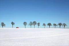 Horizontal de neige images libres de droits