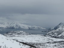 Horizontal de neige photos libres de droits