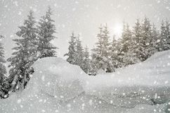 Horizontal de Noël images stock
