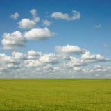 Horizontal de nuage Photographie stock