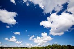 horizontal de nuage photos stock