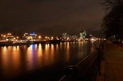 Horizontal de nuit Photos stock