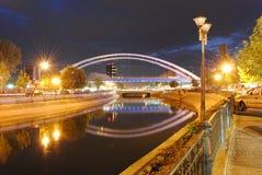 Horizontal de nuit Photos libres de droits