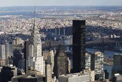 Horizontal de NYC Manhattan Chrysler Images stock