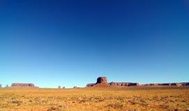 Horizontal de Pano de vallée de monument, Utah, Etats-Unis image stock
