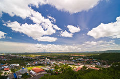 Horizontal de Phechburi, Thaïlande photographie stock