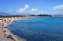 Horizontal de plage Image stock