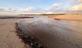 horizontal de plage image libre de droits