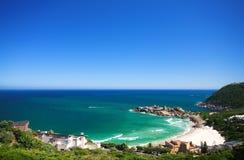 Horizontal de plage de Llandudno photo libre de droits
