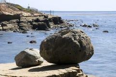 Horizontal de Point Loma photo stock