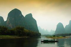 Horizontal de porcelaine de Guilin Photo libre de droits