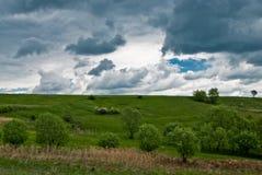 Horizontal de printemps Images libres de droits