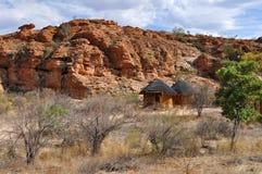 Horizontal de réserve naturelle de Mapungubwe, Afri du sud Photographie stock libre de droits