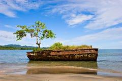 Horizontal de Rican de côte Photo stock
