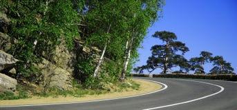 Horizontal de route Images libres de droits