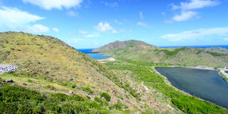 Horizontal de saint Kitts Photographie stock libre de droits