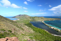 Horizontal de saint Kitts Photo stock