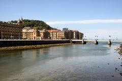 Horizontal de San Sebastian Photos stock