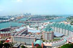 Horizontal de Singapour photographie stock libre de droits