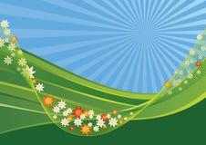 Horizontal de source Illustration de Vecteur